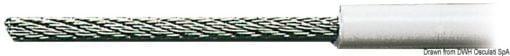 Edelstahlseil AISI 316 49-Drähte PVC-Besch. 3x6mm - Art. 03.180.06 1