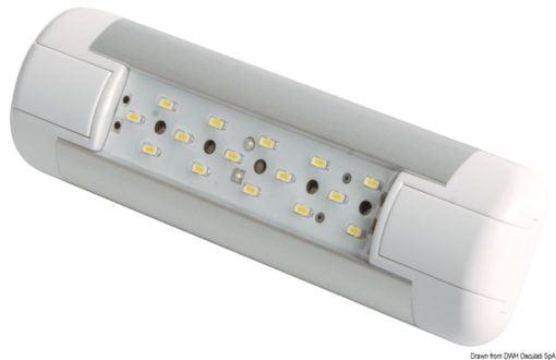 Slim LED-Leuchte, stoßfest 12/24 V 4 W - Art. 13.197.03 1