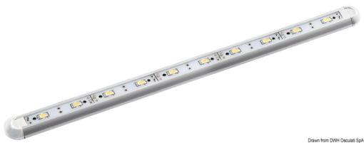 Slim Leuchte Mini, stoßfest 12 V 3 W - Art. 13.197.25 2