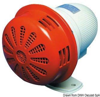 Supercelere Elektrosirene 12 V - Art. 21.466.00 1