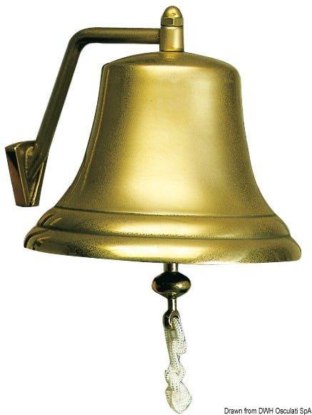 Schiffsglocke Bronze 210 mm RINA-Zulassung bis 20m - Art. 21.532.00 3