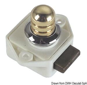 Schloß pol.Mess Ovaloid 16mm - Art. 38.182.08 1