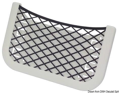 RICHTER Ablagefach m.elast. Netz 205x115x10 mm - Art. 48.434.02 1