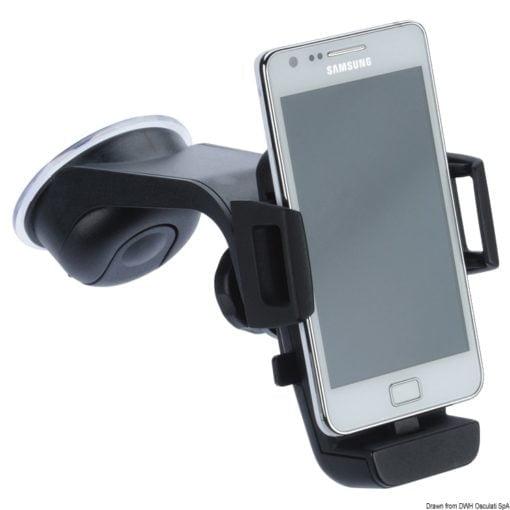 Universelle Smartphonhalterung m. Mikro-USB Dock - Art. 48.438.12 1