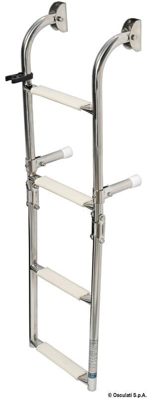 Klapp-Badeleiter AISI316 standard 5-stufig - Art. 49.572.05 4