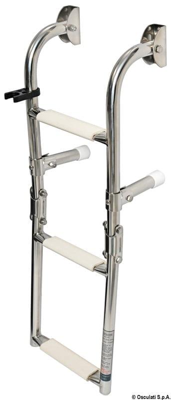 Klapp-Badeleiter AISI316 standard 5-stufig - Art. 49.572.05 3