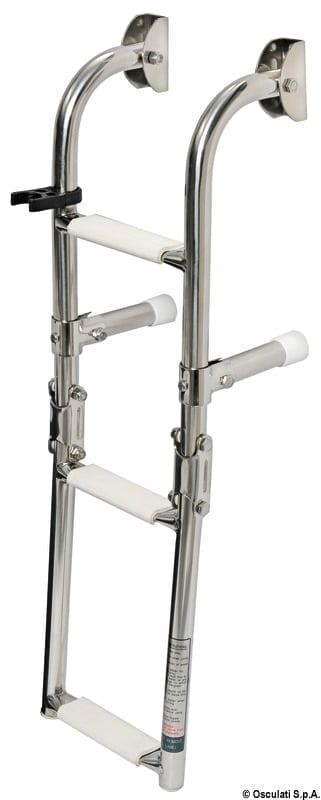 Klapp-Badeleiter AISI316 standard 5-stufig - Art. 49.572.05 2