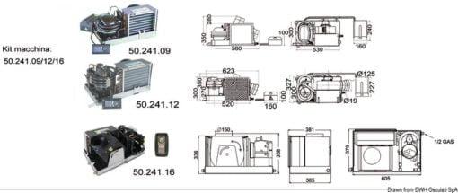 CLIMMA Bootsklimaanlage B 220 V 12000 Btu/h - Art. 50.241.12 1