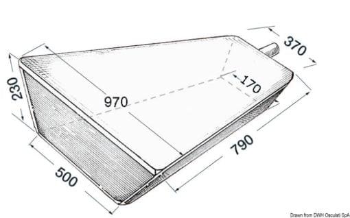 Wassertank, fest 80 l - Art. 52.194.00 1