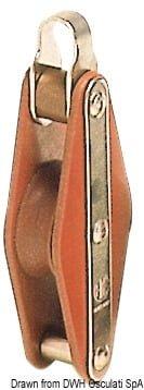 HYE Tufnol Einzelbock 8x30mm EHO - Art. 55.004.00 10