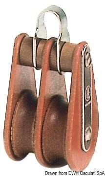 HYE Tufnol Einzelbock 8x30mm EHO - Art. 55.004.00 9