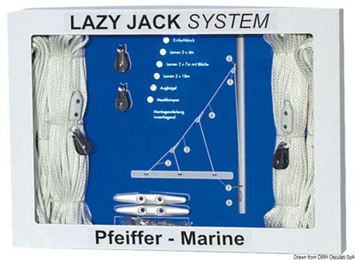 Lazy Jack System bis 30 Fuß - Art. 67.762.00 1