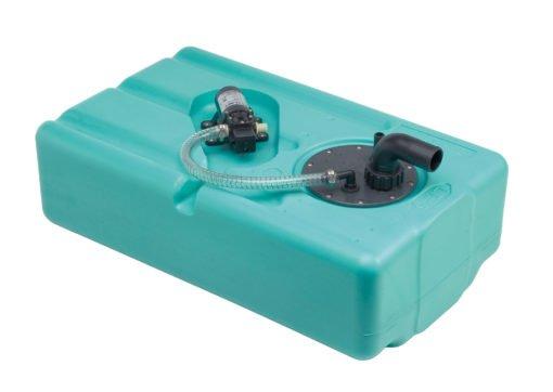 Wassertank 57 lt. mit Autoklav 4 l./Minute - 12 Volt – (CAN SB) – Art. SE2906 1