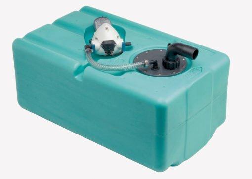Wassertank 87 lt. mit Autoklav 12 l./Minute - 12 Volt – (CAN SB) – Art. SE2949 1