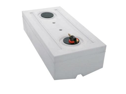 Trinkwassertank mit Stutzen aus hochwertigem und geschmacksneutralem Kunststoff lt. 190 – (CAN SB) – Art. SE8000 1