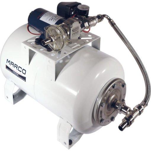 Marco UP12/A-V20 Automatische Druckwasserpumpe 36 l/min + Ausdehnungsgefäss 20 l (24 Volt) – Art. 16468413 1