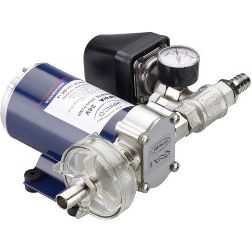 Marco UP9/A Automatische Druckwasserpumpe mit Druckwächter 12 l/min (12 Volt) – Art. 16464012 1