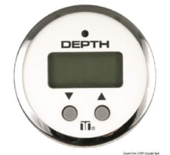 Portable and panel depth sounder