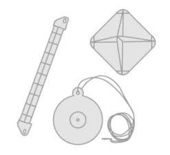 32 - Radarreflektoren- Erste-Hilfe-Kasten- Treibanker
