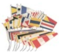 Flaggen- Gran Pavese Flaggen und Wimpel