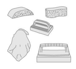 36 - Reinigungsset- Handtücher und Decken