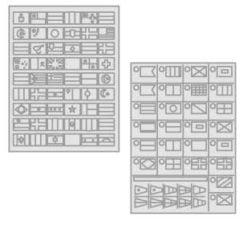 54 - Buchstaben und Schielde gemäß CE Normen