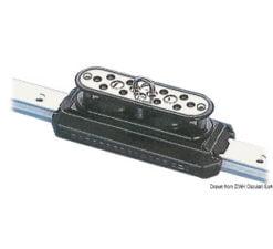 Doppelt kugelgelagerter Schlitten geeignet für Boote bis 11-5 m