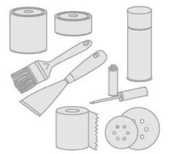 65 - Isolierstoffe- Reinigungsmitteln- Farben